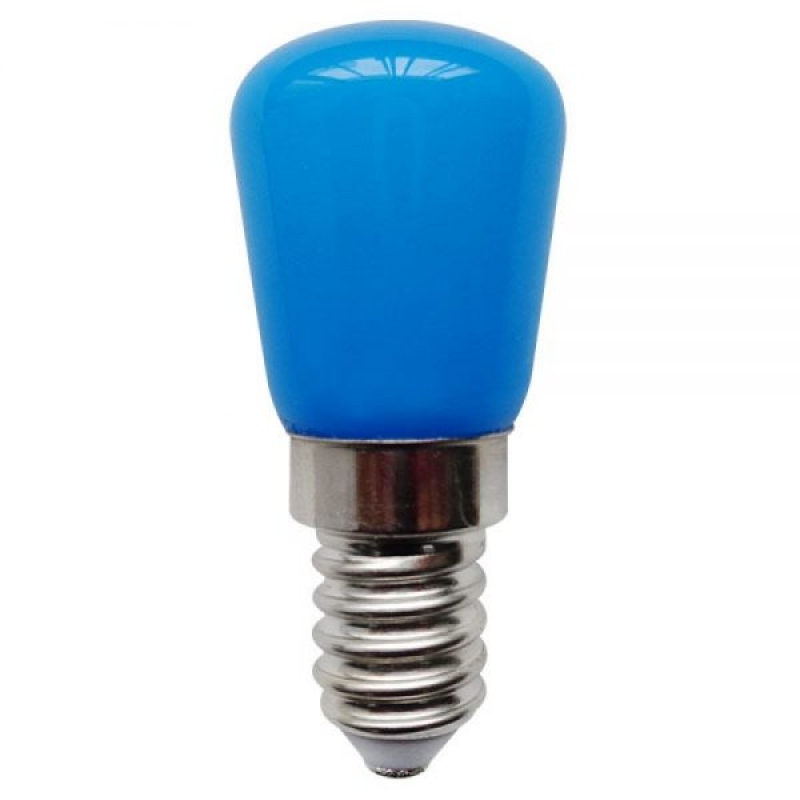 Bell LED Coloured Pygmy 1W SES/E14 Blue 02655