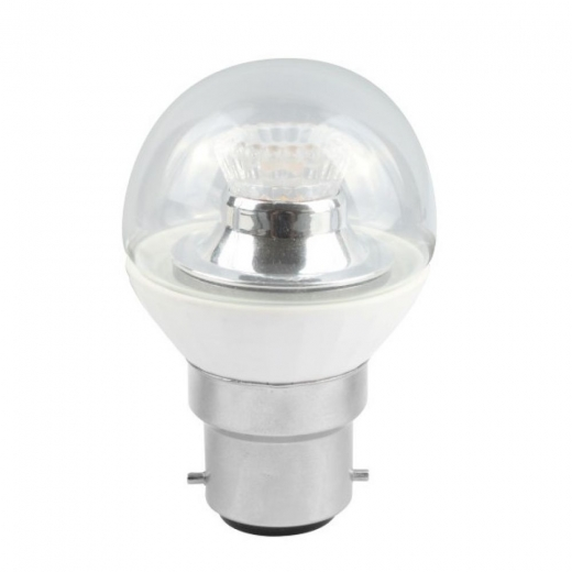 Bell 4W BC 2700K LED Dimmable 45mm Golf Ball Clear 05187