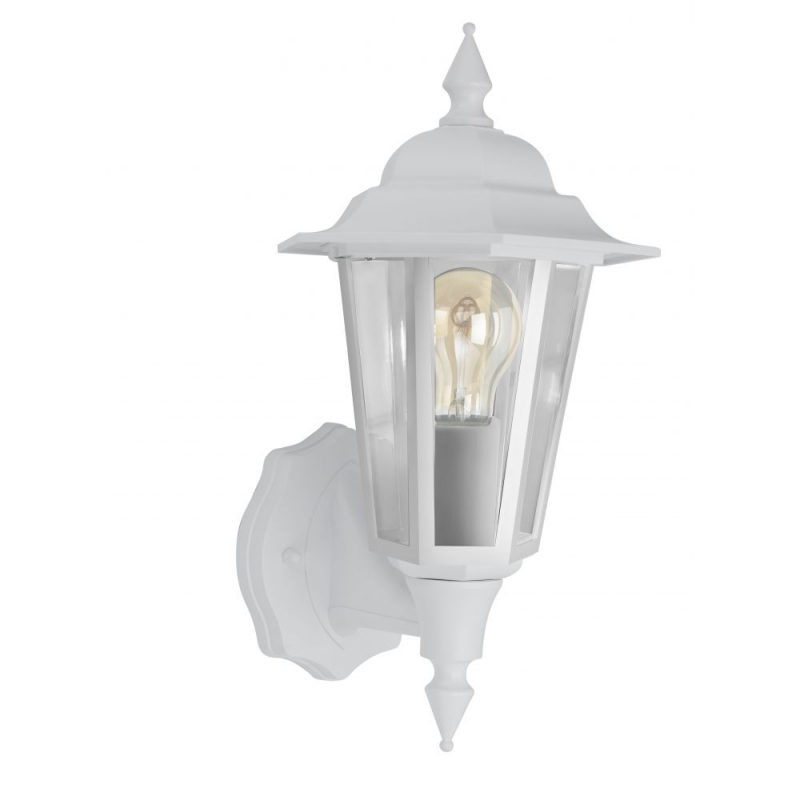 Bell Retro Vintage Lantern White IP54 Rated 10362