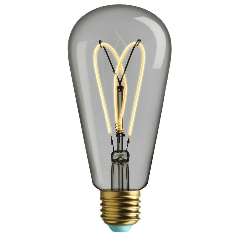 Plumen Whirly Willis Filament ST64 4W E27 2700k Dimmable 180Lm