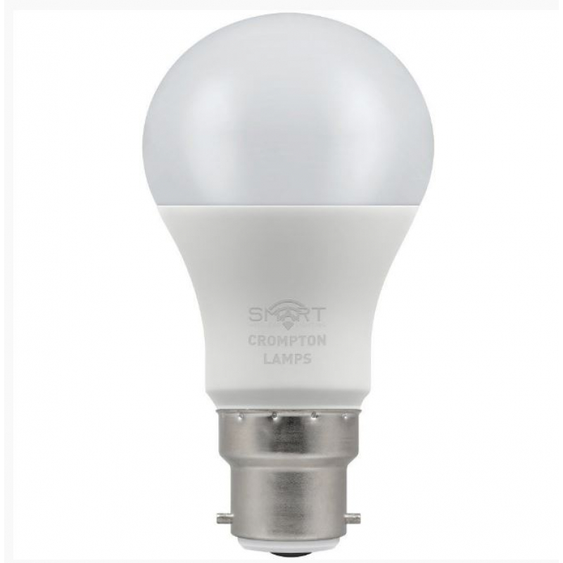 Crompton 12301 Smart Wireless 8.5 Watt BC LED Dimmable GLS