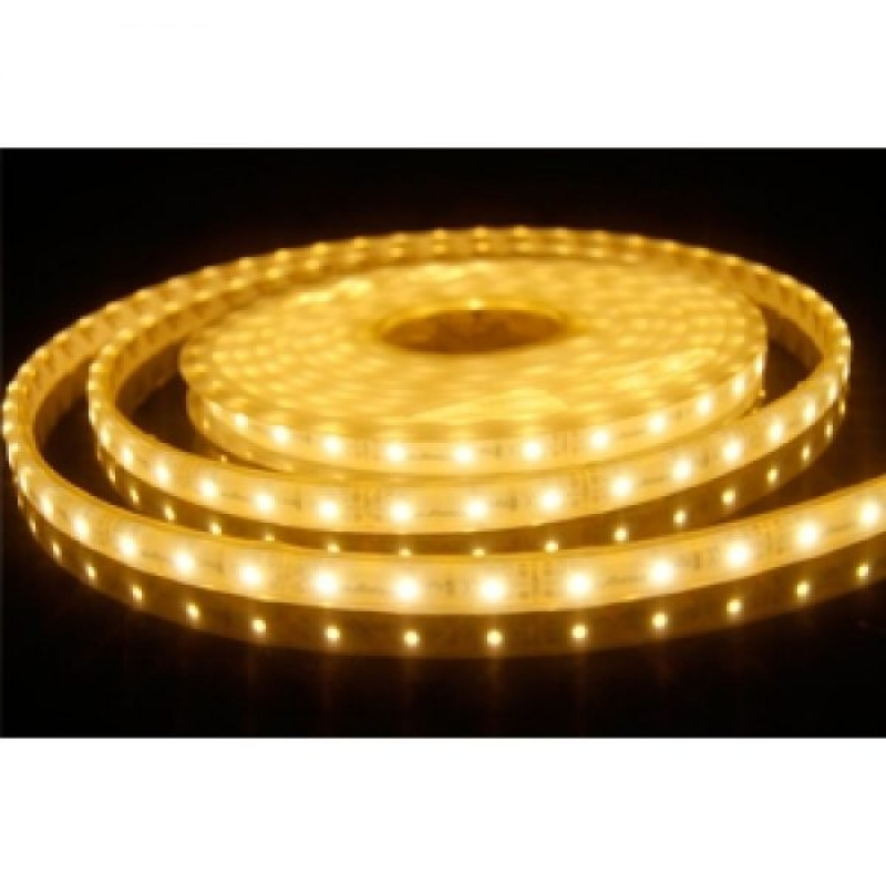 5m LED Strip 12V IP67 3500K 6 Watt per metre