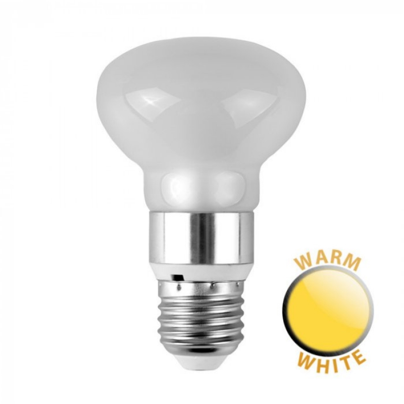 MiniSun 6W LED R63 Frosted Glass Reflector Bulb ES 3000K