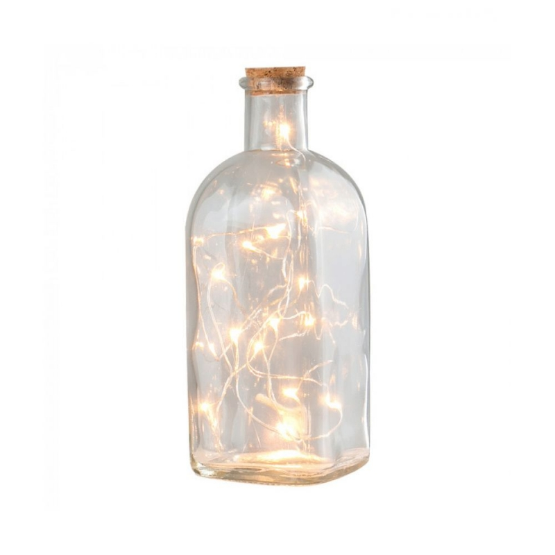 Minisun Apothecary Bottle with wire LED Fairy Lights 21389
