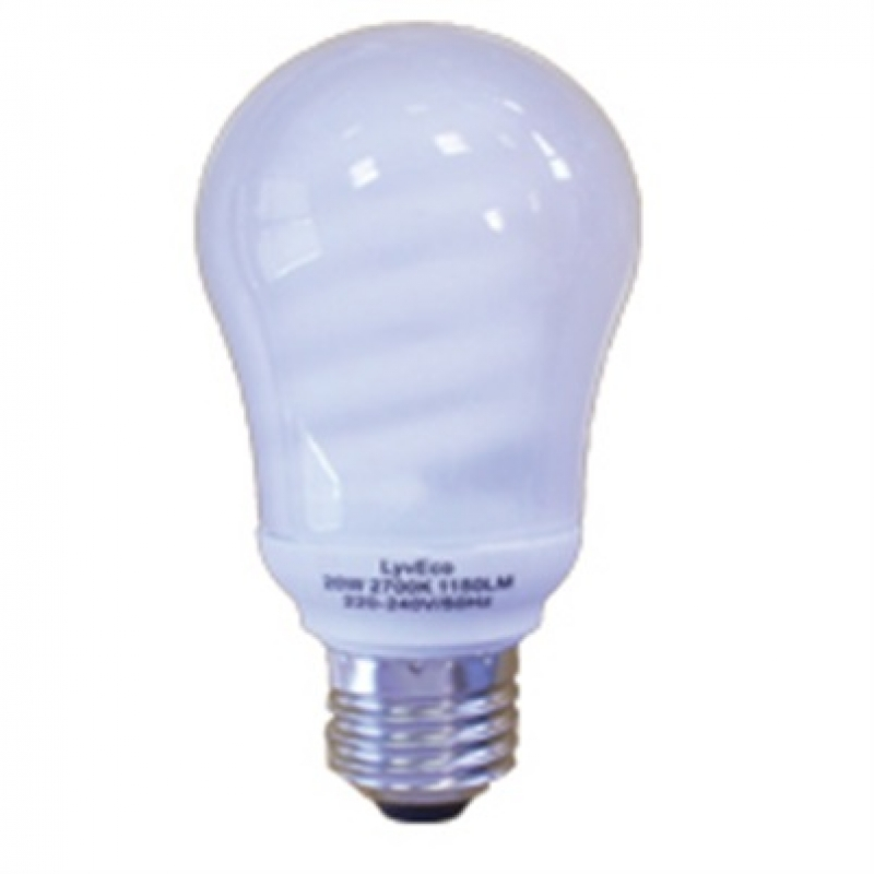 LyvEco 3014 11W ES GLS Energy Saving Lamp 2700K