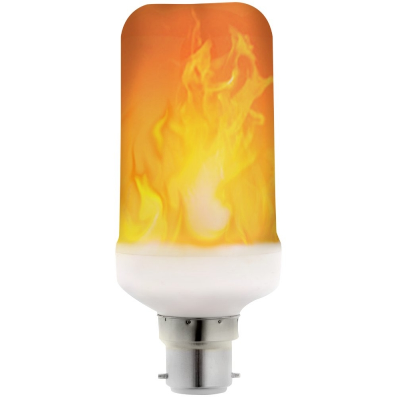 LyvEco Gravity Flicker Flame Effect LED 240V 6W BC 3682