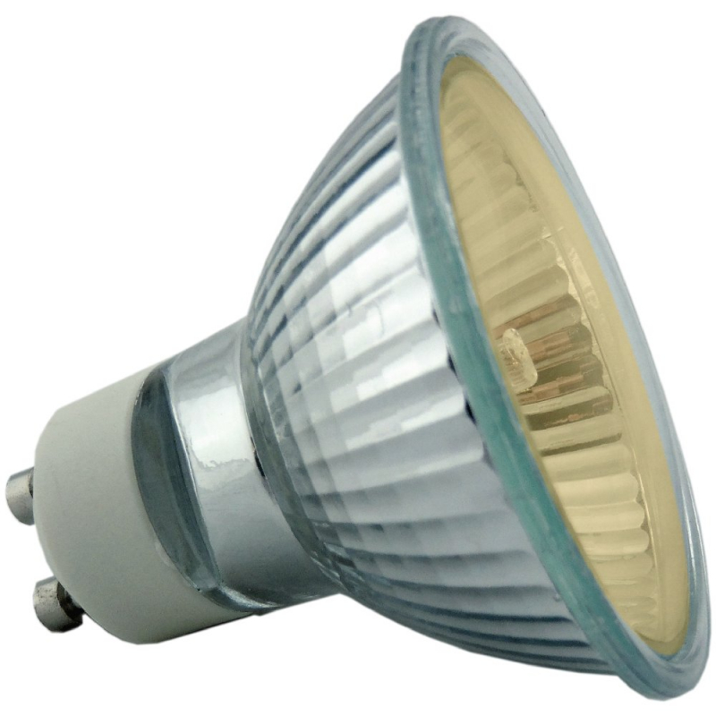 50W 35 Degree Amber GU10 Reflector Bulb