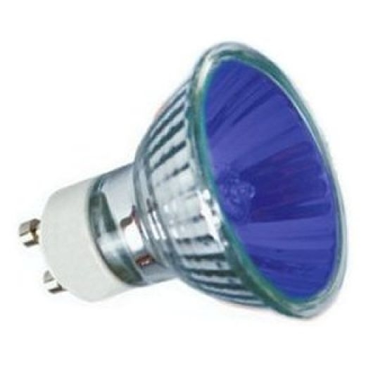 50Watt 35* Blue Halogen GU10 Reflector