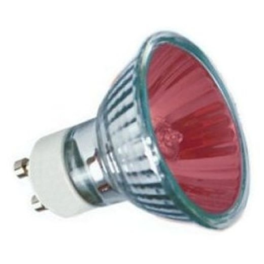 50Watt 35* Red Halogen GU10 Reflector