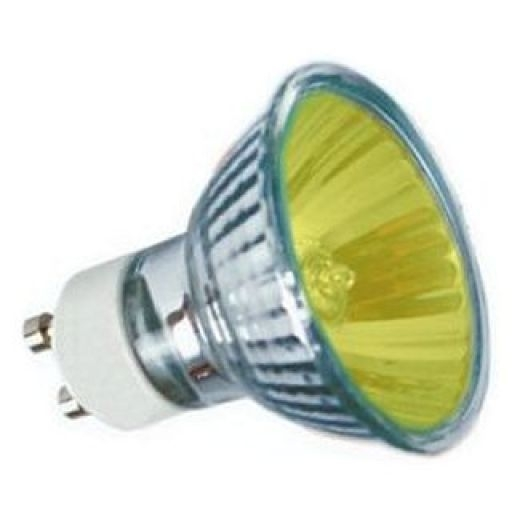 50Watt 35* Yellow Halogen GU10 Reflector
