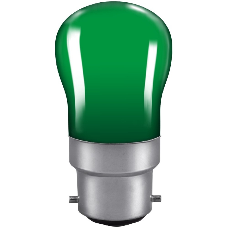 Bell Green Pygmy Sign 15Watt BC Lamp