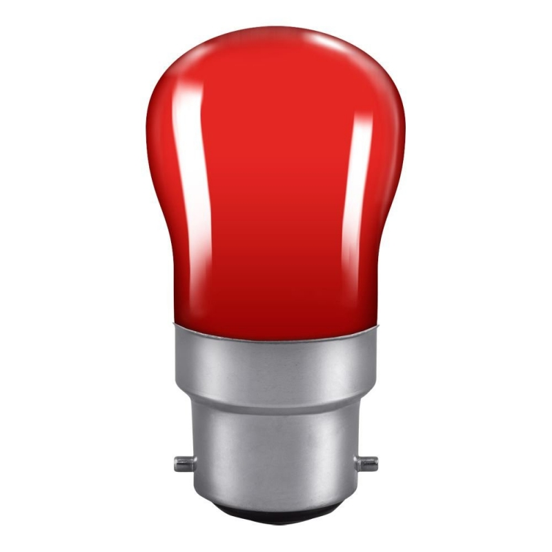 Red Pygmy Sign 15Watt BC Lamp