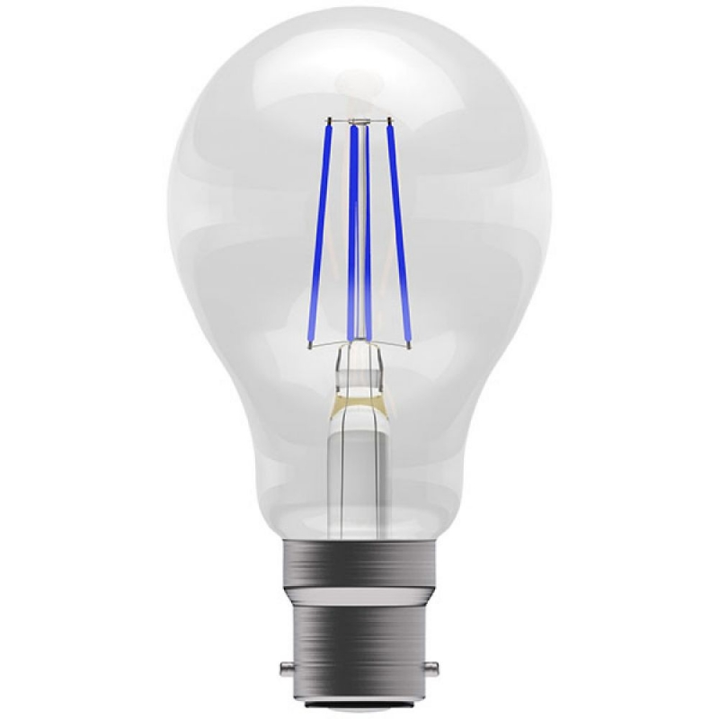 BELL 60063 4W Blue Coloured LED Filament GLS BC/B22 Bulb