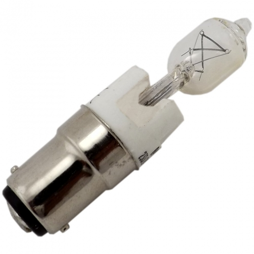 40Watt SBC Clear Halogen Halolux Tubular Lamp