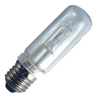 100Watt ES Clear Halogen Halolux Tubular Lamp