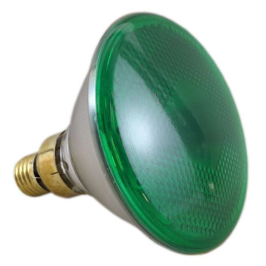 Sylvania 80Watt Par38 Green Reflector Lamp