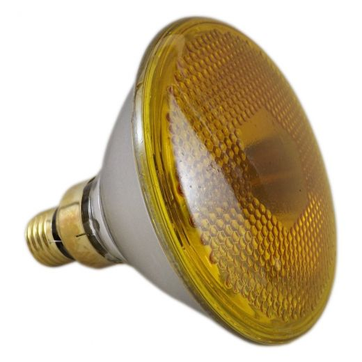 80Watt Par38 Yellow Reflector Lamp