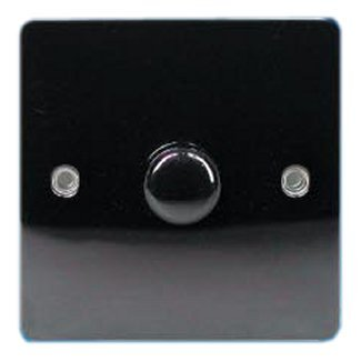 Black Nickel 1 Gang, 1 Way Dimmer Switch