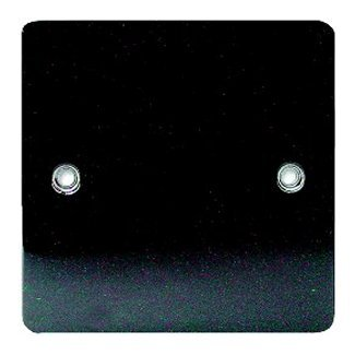 Black Nickel Single Blanking Plate