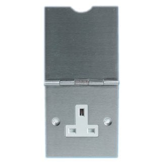 1 Gang Stainless Steel Floor Socket