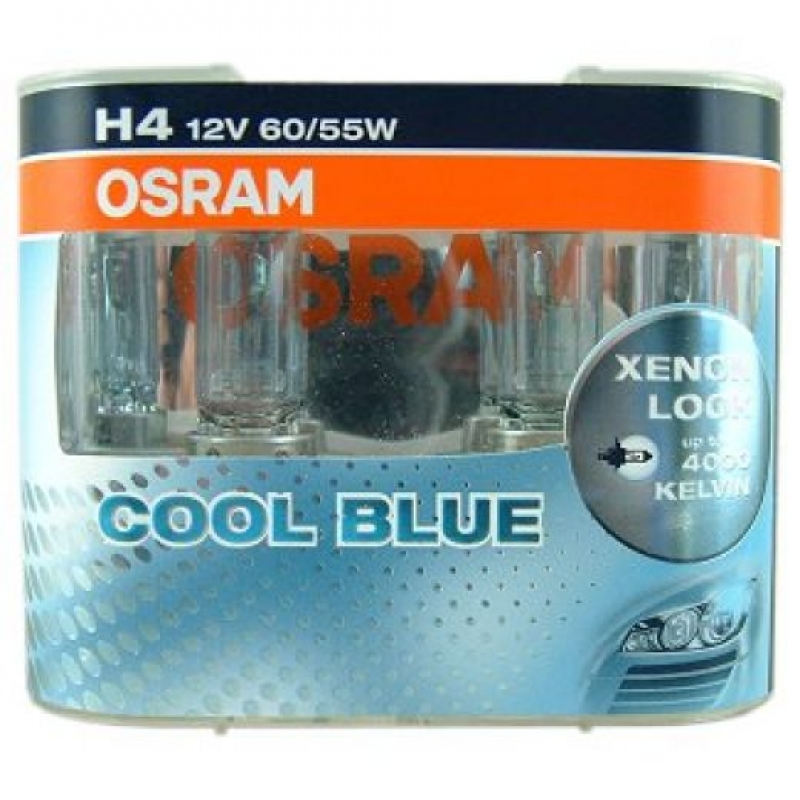 Osram 12V 55/60W H4 P43t Coolblue Car Auto Headlight Bulb