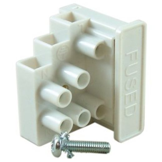 AFTB7 13A 3 Way Fused Terminal Block