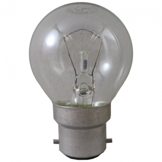 15Watt Clear BC Golf Ball Lamp