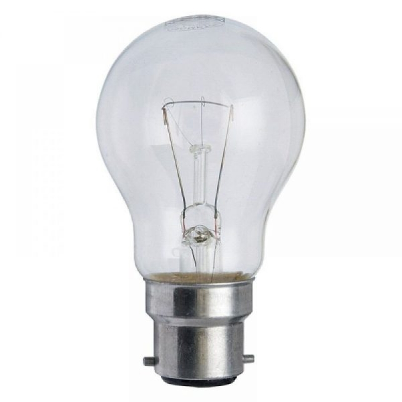 BC 60W Oven Lamp GLS 240V Clear 300c