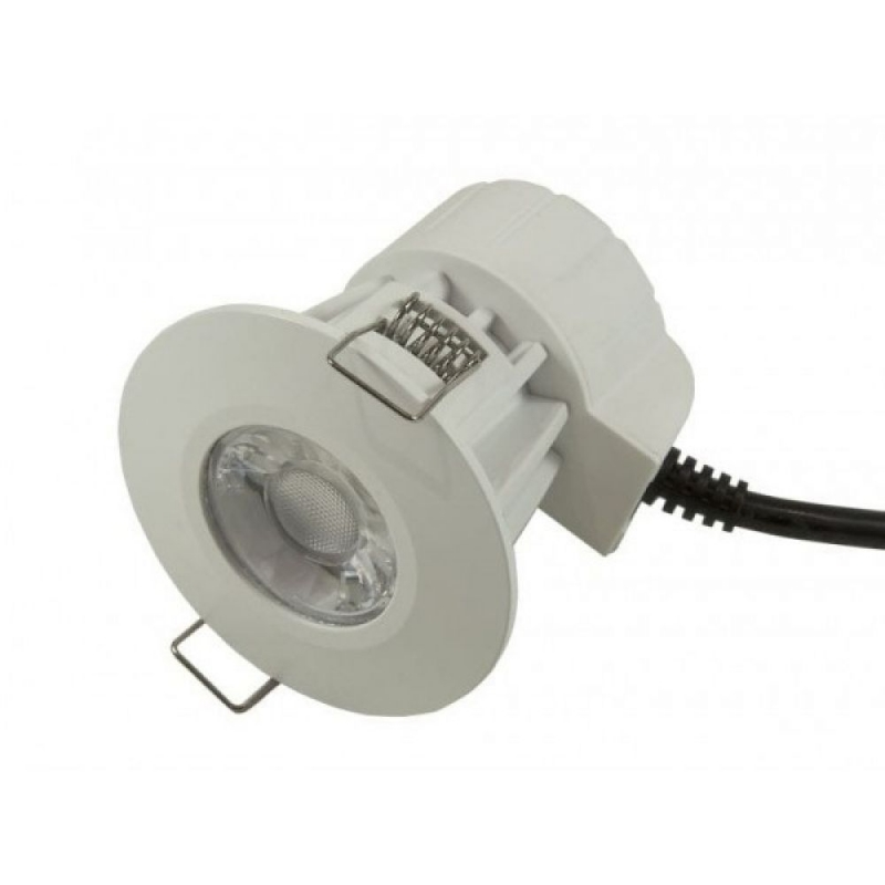 Bell 08187 Firestay LED 8W Fixed Fire Rated Dimmable Downlight