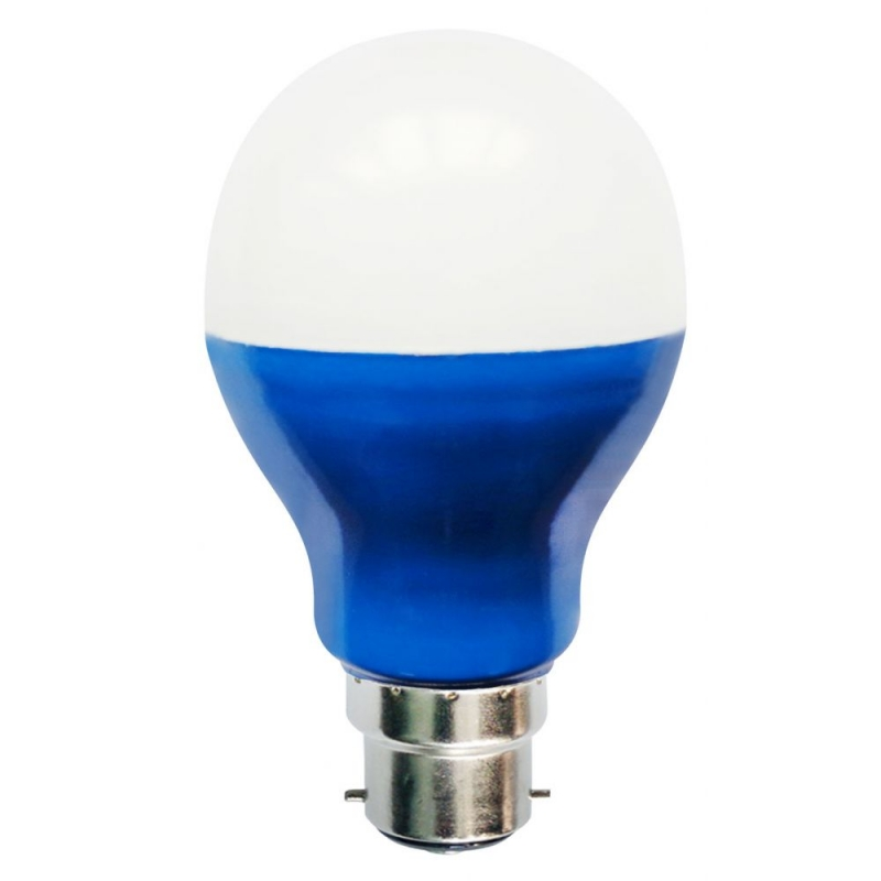 Bell 05747 5W Blue LED GLS Light Bulb BC/B22