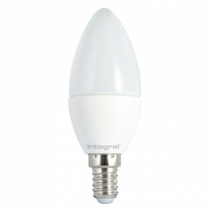 Integral LED 6.2W Frosted Candle  2700K SES 97-68-90