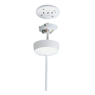 PreWired Plug In Ceiling Rose