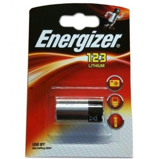 Energizer Lithium Photographic 1 x Pack CR123A
