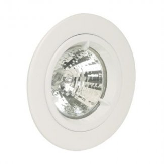 White GU10 Cast Downlights