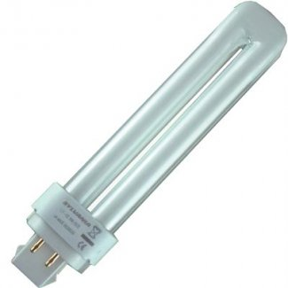 DE-4 Pin CFL Low Energy Fluorescent Warmwhite 13Watt