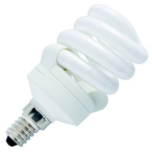 11W SES Cool Daylight Energy Saving Spiral Light Bulb