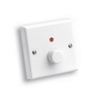 White 1-Way Dimmer Switch With Integrated Neon Indicator
