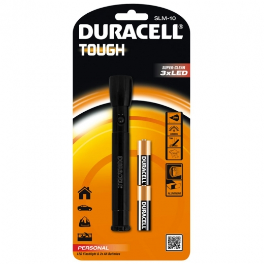 Duracell S7273 SLM-10 Tough Slim Torch