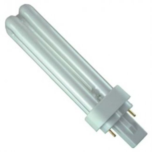 D-2 Pin Low Energy Fluorescent 18Watt White
