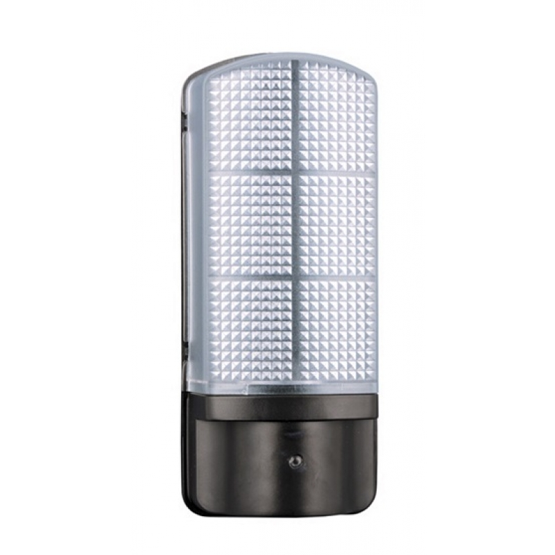 Leyton Lighting 7W LED Photocell Outdoor Bulkhead Wall Light EPPING