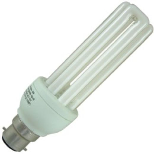 GE 20W Energy Saving Triple Turn CFL BC Warm White