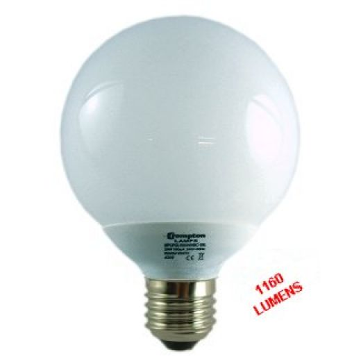 Energy Saving ES Globe 240v 20Watt Warmwhite