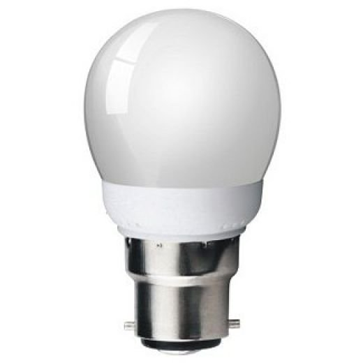 Sylvania Energy Saving 9W BC Golf Ball Light Bulb 0035402