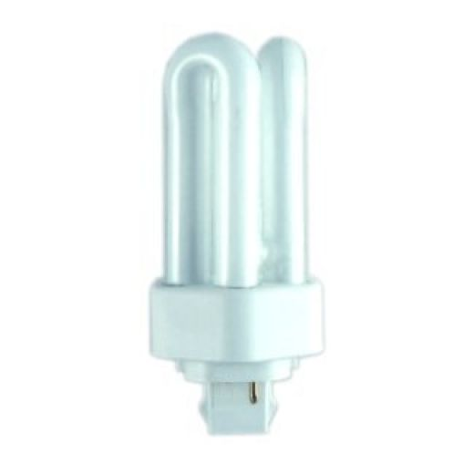 Triple Turn Compact Fluorescent 2 Pin GX24d-2 13W 2700K