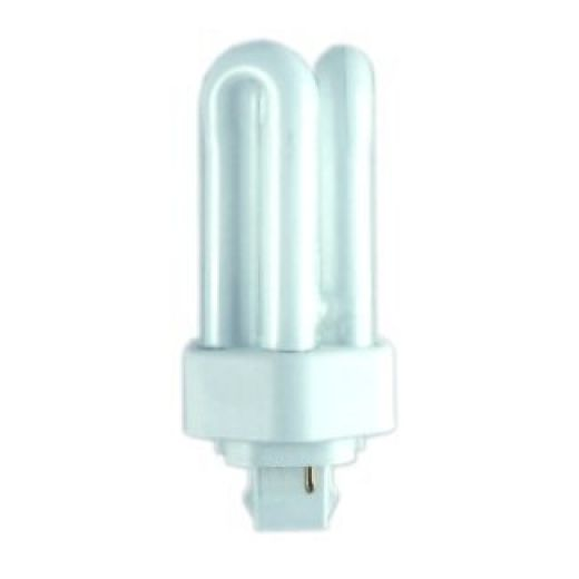 Triple Turn Compact Fluorescent 2 Pin GX24d-2 18W 2700K