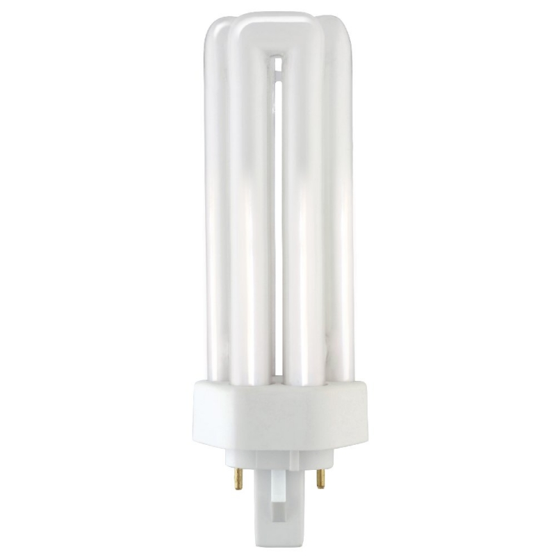 Triple Turn Compact Fluorescent 2 Pin GX24d-2 26W 3500K