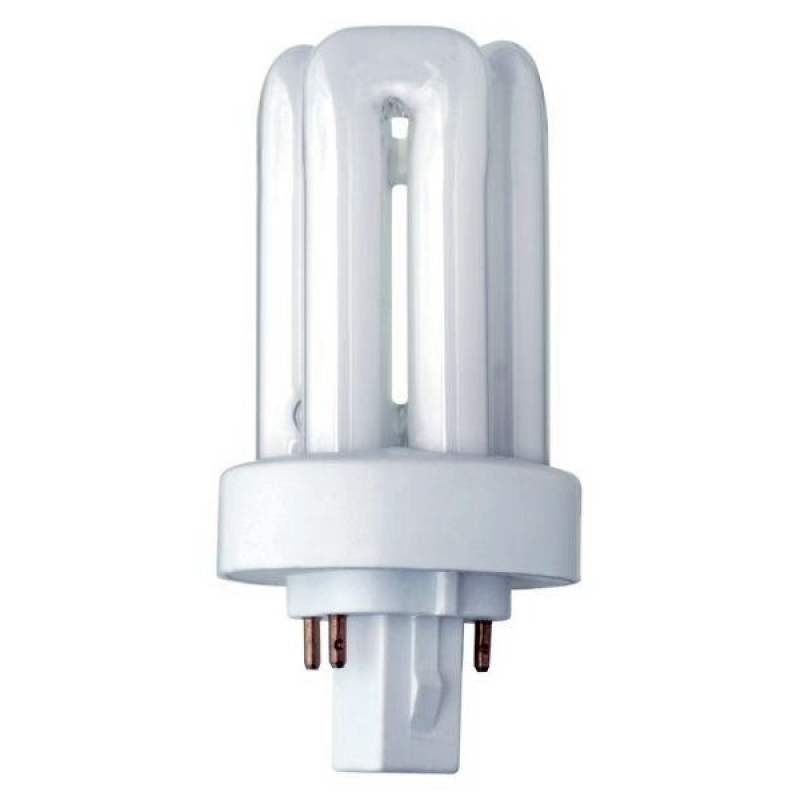 13Watt GX24q1 T/E Triple Turn Low Energy 4 Pin CFL Lamp 3500K