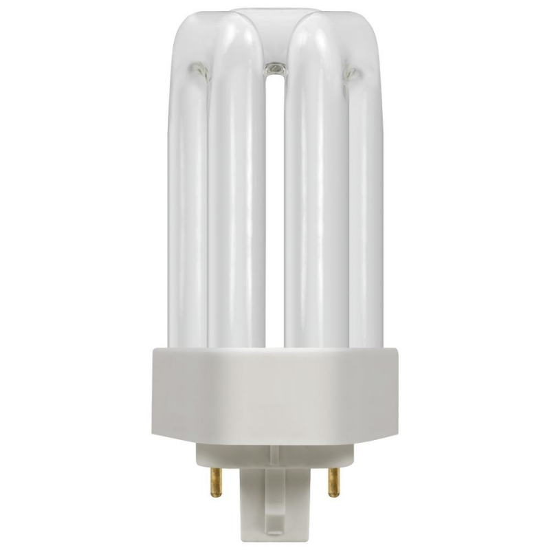 13Watt GX24q1 T/E Triple Turn Low Energy 4 Pin CFL Lamp 4000K