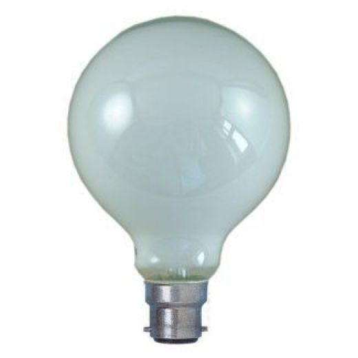 Bell 02019 95mm Tough 100W BC Globe Lamp