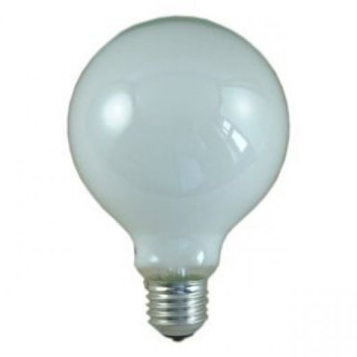 125mm Diameter 240V 100W ES Opal Globe Lamp